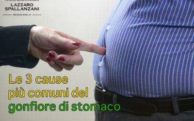Le 3 cause più comuni del gonfiore di stomaco