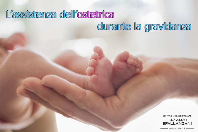 L'assistenza dell'ostetrica durante la gravidanza