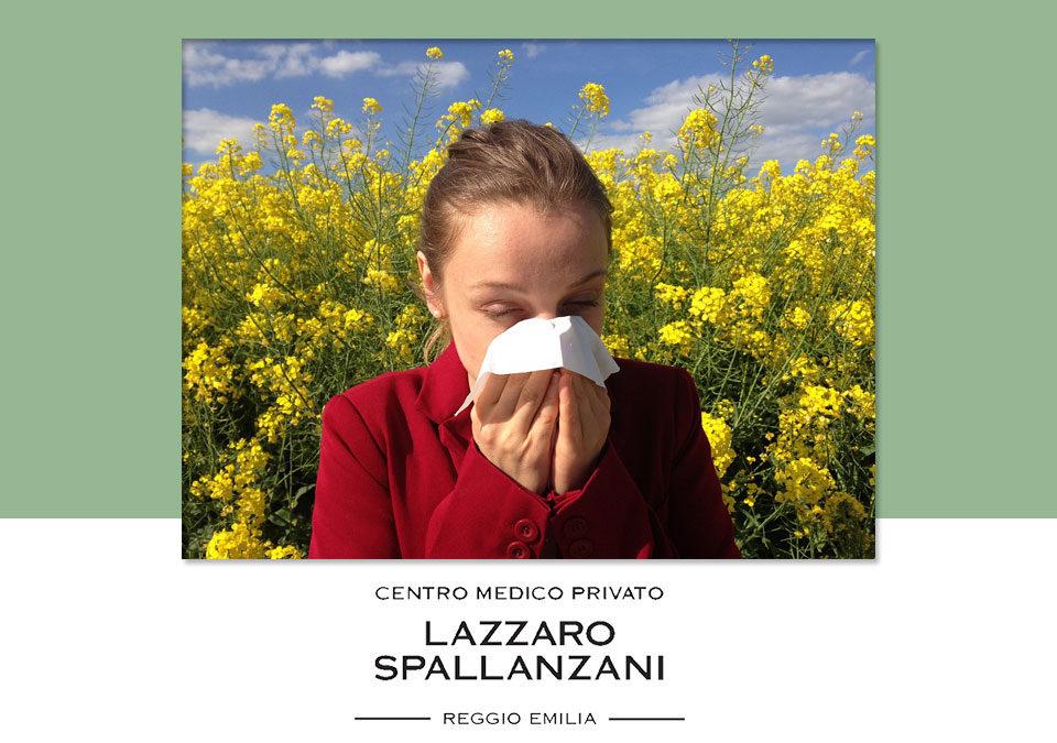 Quali sono i sintomi dell'allergia al polline?