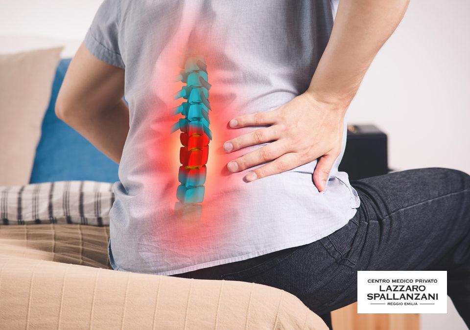 Ernia lombare: quali sono i dolori più comuni?